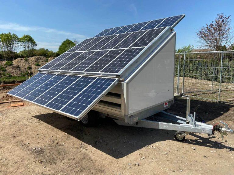 Duurzame energie voor bouwplaats Arnhem